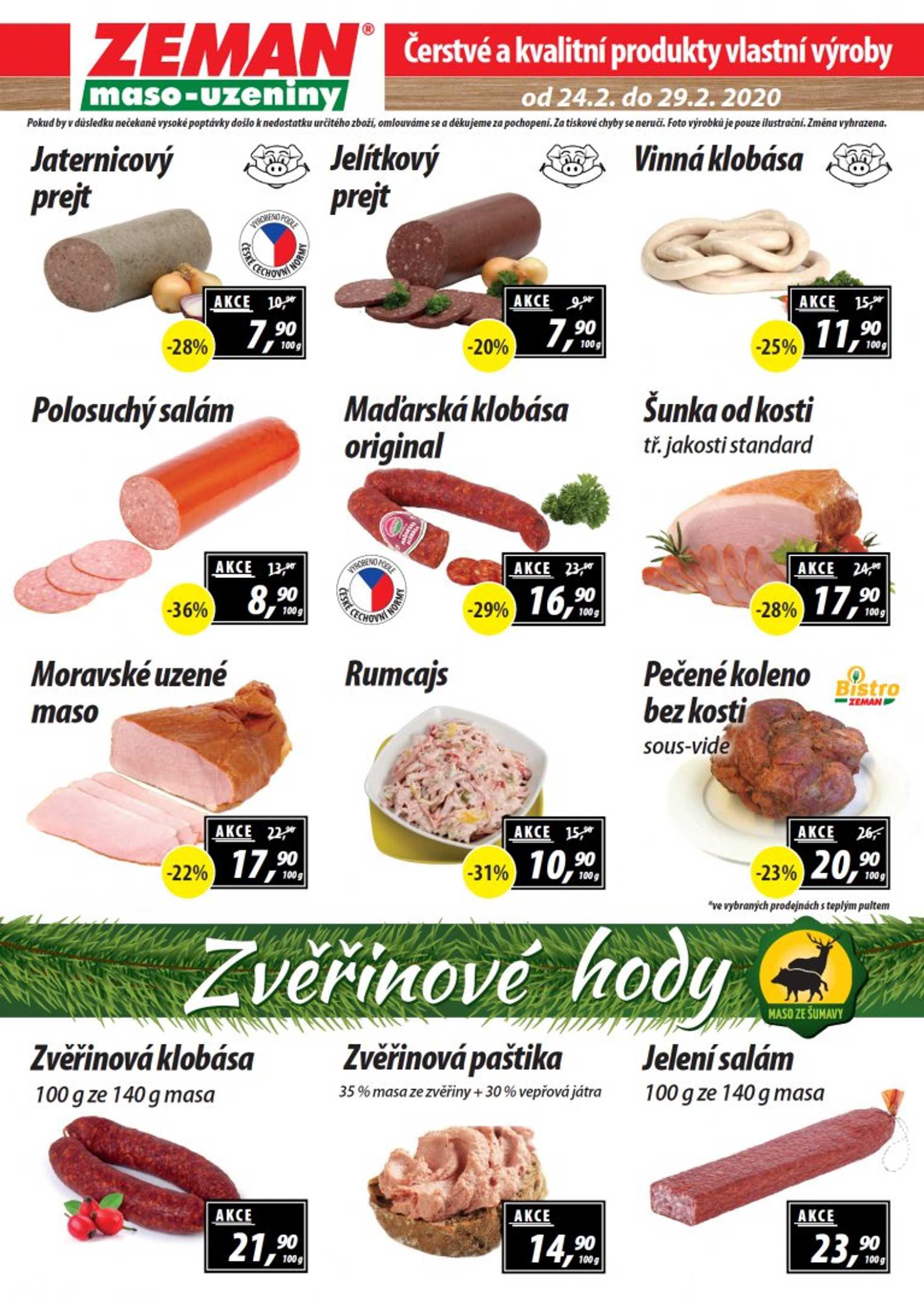 Zeman - promo od 24.02.2020 do 29.02.2020 - stránka 2.