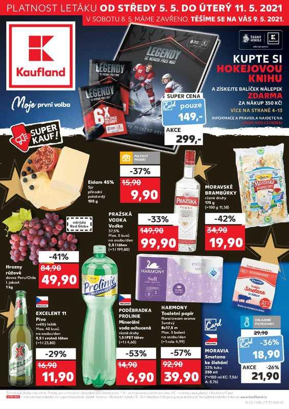 Kaufland - promo od 05.05.2021 do 11.05.2021 - stránka 1.