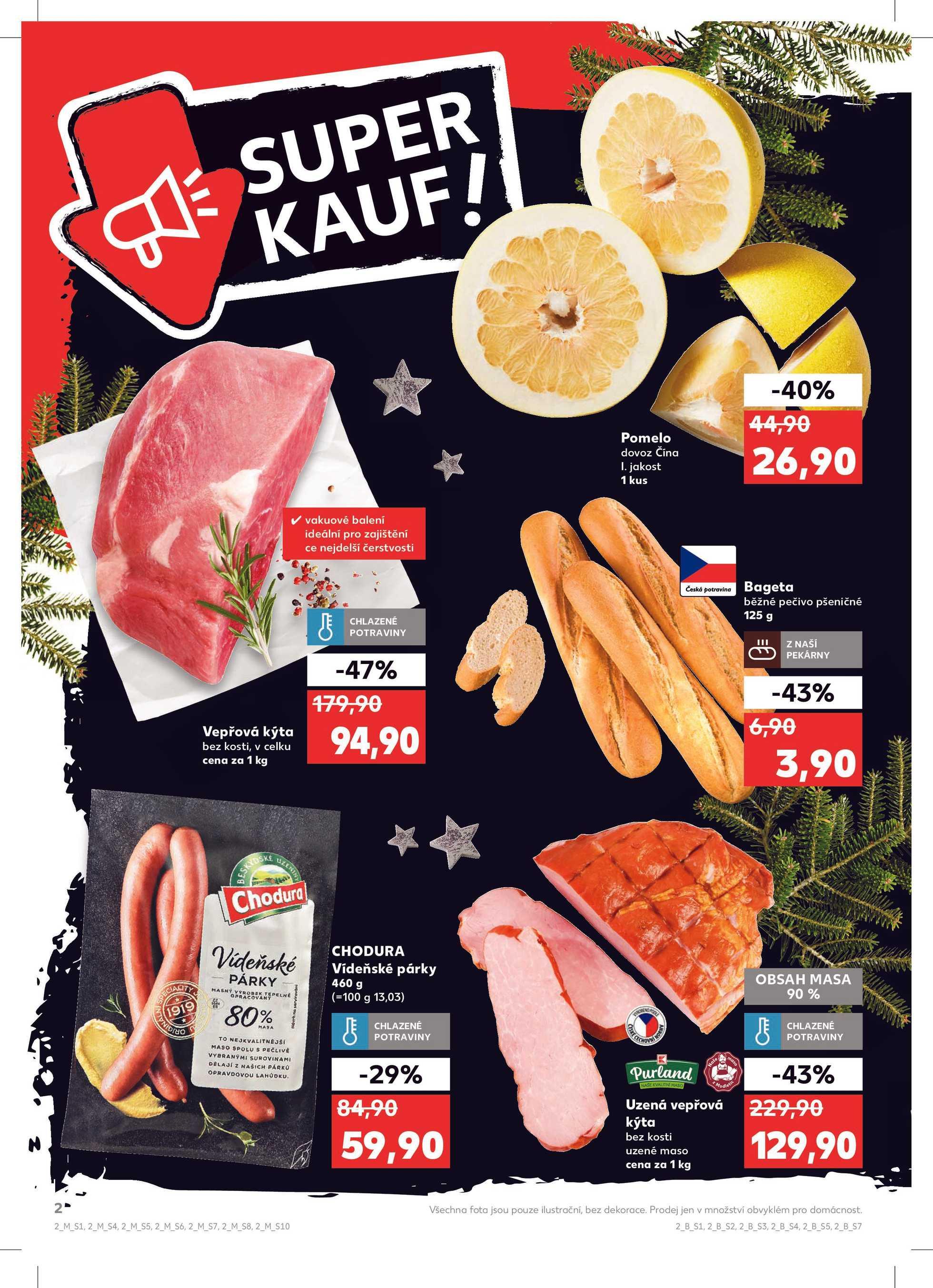 Kaufland - promo od 11.12.2019 do 17.12.2019 - stránka 2.