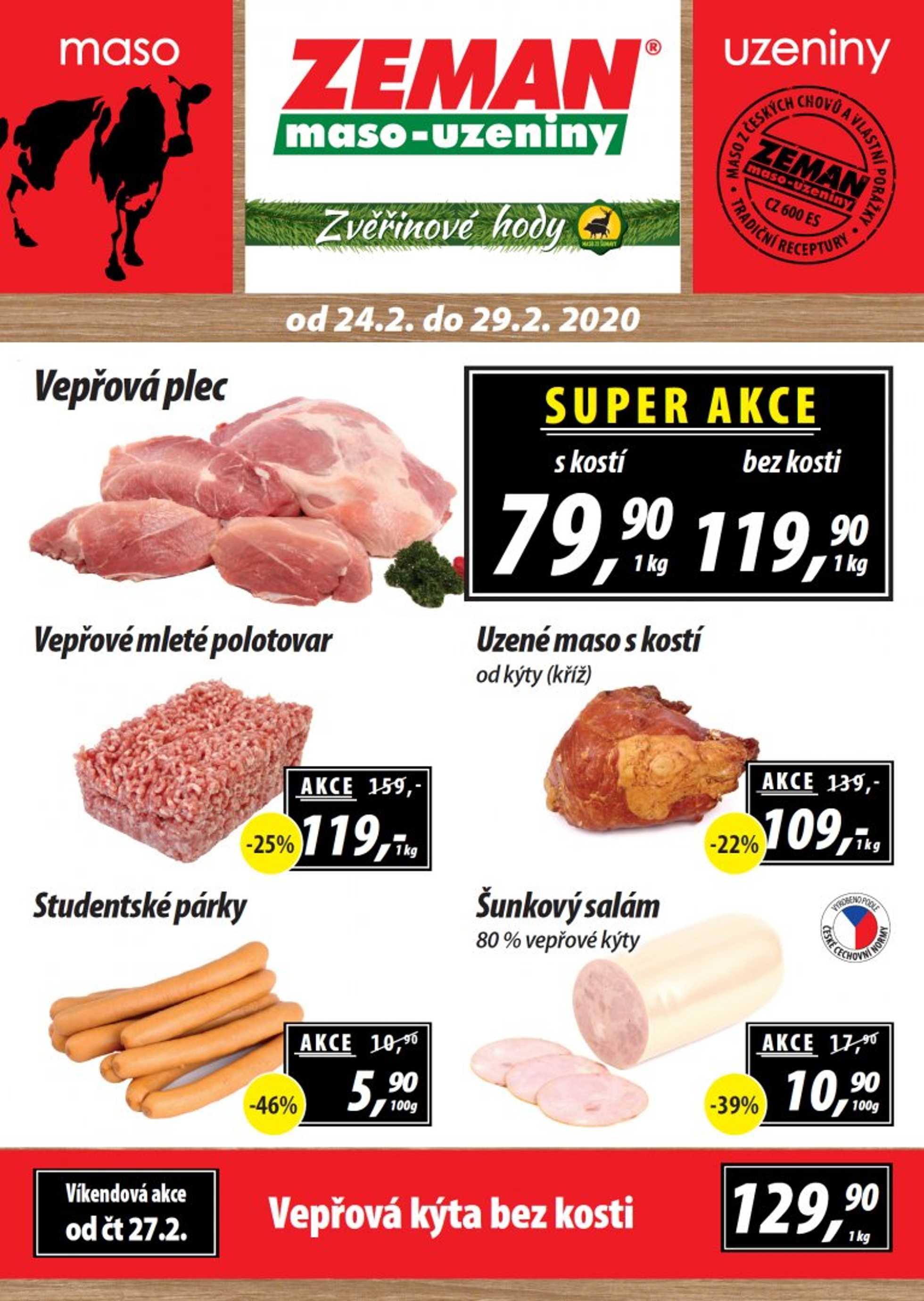 Zeman - promo od 24.02.2020 do 29.02.2020 - stránka 1.